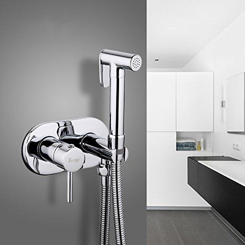 JINHUGU F7505 Duschkopf Bidet Armaturen Messing Badezimmer Dusche Armatur Bidet WC Zubehör für Badezimmer