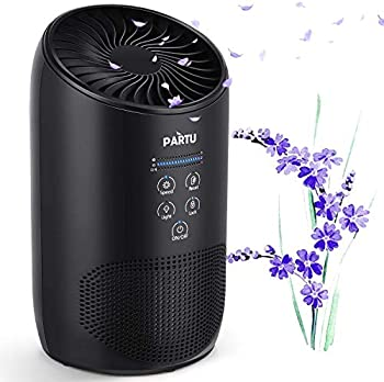 PARTU 100% Ozone Free HEPA Air Purifier with Fragrance Sponge