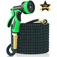 [NEW 2018] Expandable Garden Hose 50Ft Extra Strong –...