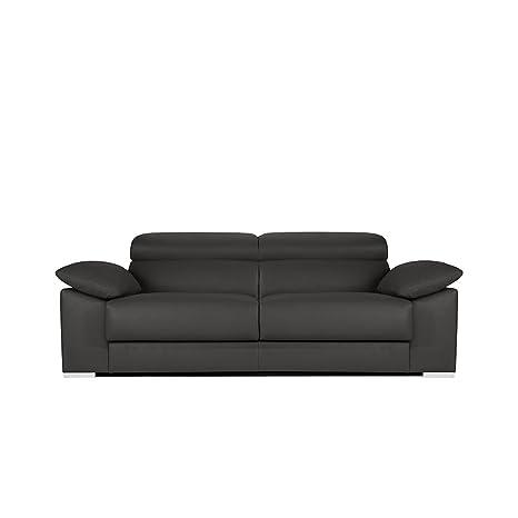 Zendo Sofas Sicilia sofá de 3 plazas, con 2 correderas calme ...