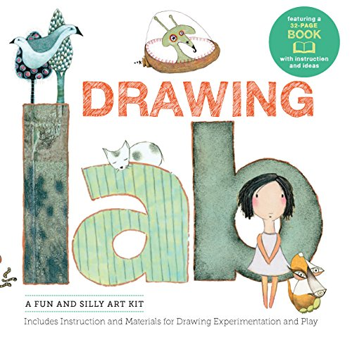 - Drawing Lab Kit: A Fun and Silly Art Kit, Includes Instructions and Materials for Drawing Experimentation and Play Burst: featuring a 32-page book with instructions and ideas