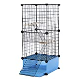 X-Large Small Animals Cage-Living House Series CW55801 (Blue-Economic Basic)