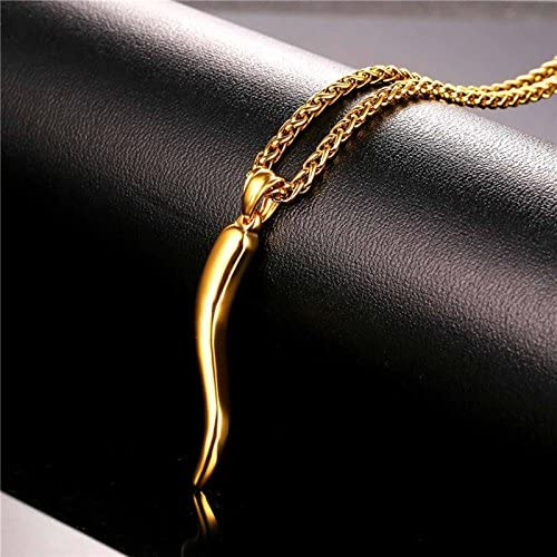 20 Inch Greendou Fashion 18K Gold Plated 1mm Snake Chain Necklace Jewelry