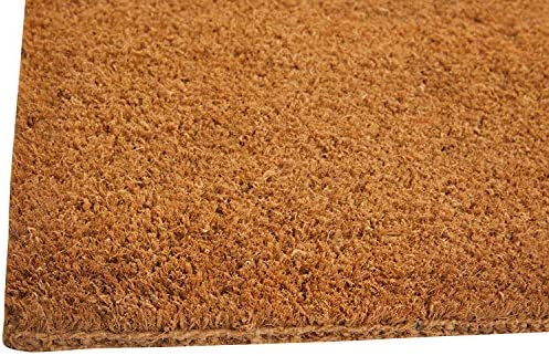William Armes Dandy Kersey Hand Woven Natural Coir Doormat With Jute Mat Brown 60 X 35 Cm Amazon Co Uk Kitchen Home