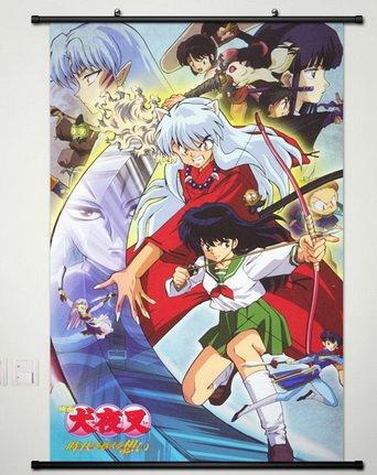 Home Decor Anime Cosplay Inuyasha Sesshomaru Wall Scroll Pos