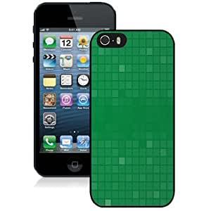 Personalized Phone Case Design with Green Squares Pattern iPhone 5s Wallpaper