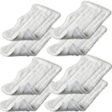 EcoMaid For 8pcs Replacement Microfiber Pads for Euro Pro Shark Steam Mop S3250 S3101 (set of 8)