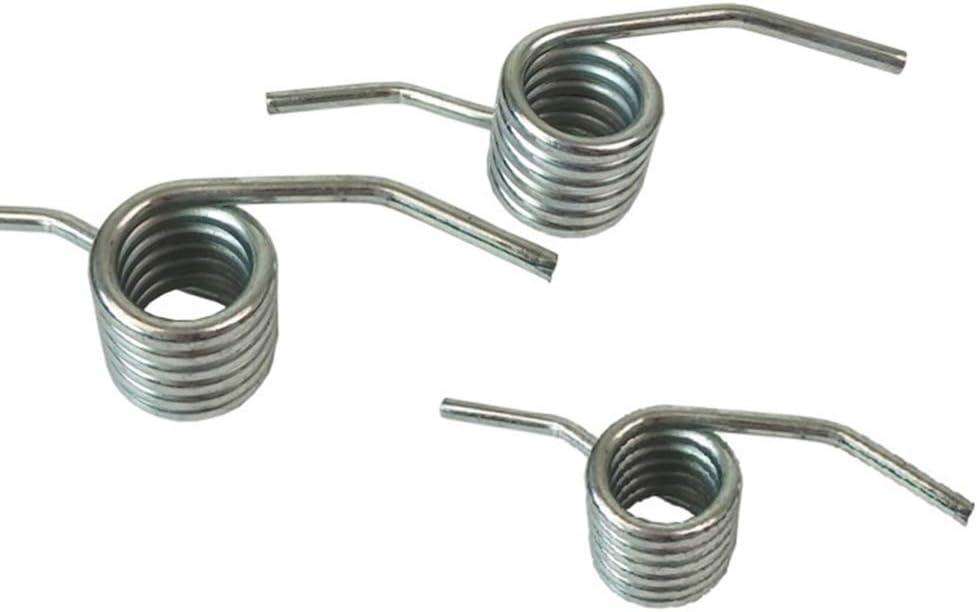 accessori 3 tonnellate impugnatura idraulica argento 3 pezzi ricambio per cric orizzontale Wakauto Molla di torsione per porta del garage H/örmann