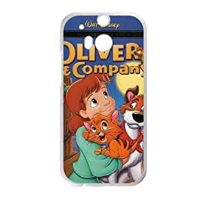 HTC One M8 Phone Case White Oliver and Company AXF525991