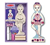 Melissa & Doug Decorate-Your-Own Ballerina Doll
