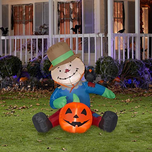Holiday Living Ab Harvest Scarecrow