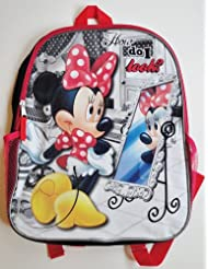 Disney Minnie Mouse How do I look? Backpack
