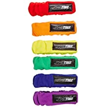 Sportime 1473610 3-Legged Race Band Set, Fabric Cover, Assorted Colors (Pack of 6)
