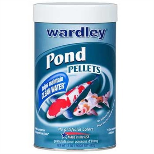 Wardley TEN (Total Essential Nutrition) - Pond Pellets for all pondfish - 17 ()
