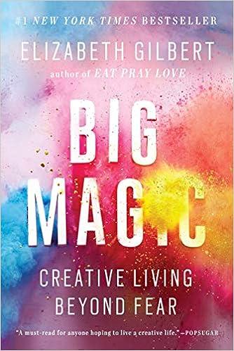Big Magic by Elizabeth Gilbert - book cover. #elizabethgilbert #books #creativitybooks #personalgrowth #lizgilbert