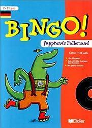 Bingo ! : J'apprends l'allemand, cours moyen 7-11 ans (contient un CD audio)