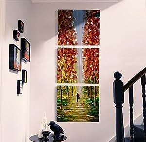 Versi n vertical de los cuadros del tr ptico pintura decorativa moderna colgado fotos metal - Cuadros verticales modernos ...