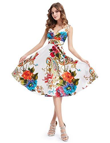 Ever Pretty - Vestido - Noche - para mujer Multicolor