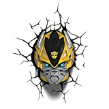 3D DECO FX TRANSFORMERS BUMBLE BEE BUMBLEBEE BEDROOM WALL NIGHT LED LIGHT LAMP