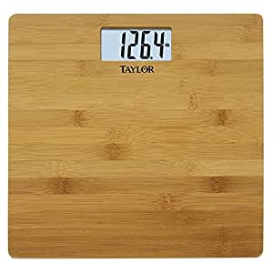 Taylor Precision Products Bamboo Electronic Scale