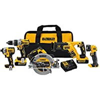 Dewalt Dck594P2 20V Max Xr 5-Tool Combo Kit Benefits