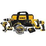 DEWALT DCK594P2 20V Max XR 5-Tool Combo Kit