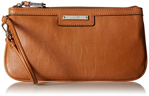 Nine West Table Treasures Small 60295885 Wristlet,Cognac,One Size (Brown Wristlet)