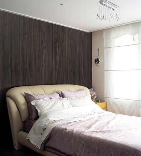 Magicfix はがせる壁紙 シール式 50cm幅x15メートル単位 (DW-33 ベーシックウッド(ブラウン)) B0167EZAEI 15メートル単位|DW-33 ベーシックウッド(ブラウン)