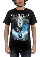 Sepultura - Mens Kairos T-Shirt, Size: X-Large, Color: Black