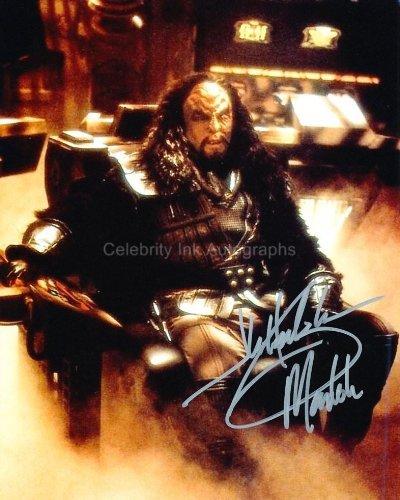 J. G. HERTZLER as General Martok - Star Trek: Deep Space Nine Genuine Autograph from Celebrity Ink