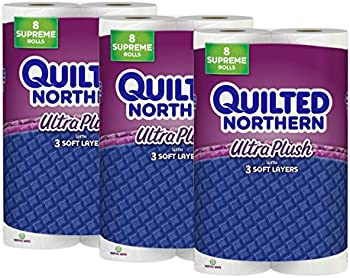 24-Count Quilted Northern Ultra Plush Supreme Roll Toilet Paper
