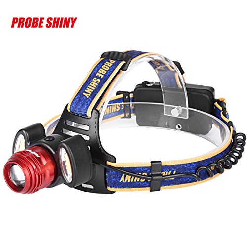 UMFun 15000Lm 3x XML T6 LED Headlamp Rechargeable Headlight 18650 Head Torch Light Lamp