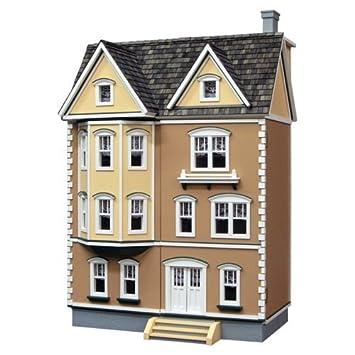 Amazon.com: Real Good juguetes East Side Casa Adosada en 1/2 ...