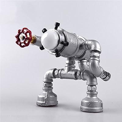 China Palaeowind Creative Metal Robotic Pipe Fashion Led Bedroom Lamp