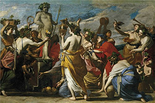 Oil Painting 'Stanzione Massimo Sacrificio A Baco 1635', 18 x 27 inch / 46 x 69 cm , on High Definition HD canvas prints is for Gifts And Bar, Bath Room And Game Room Decoration, pics