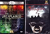 The Unexplained The Vampire Myth , The History Channel Vampire Secrets : 3 Disc Set : 300 Minutes