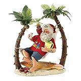 "Department 56 Possible Dreams Santa Claus ""Wastin' Away Again"" Clothtique Figurine, 12''"