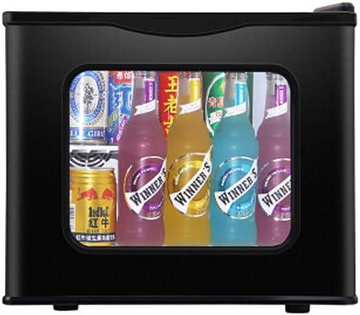 HWG Mini Congelador Refrigerador con Puerta De Vidrio Mini ...
