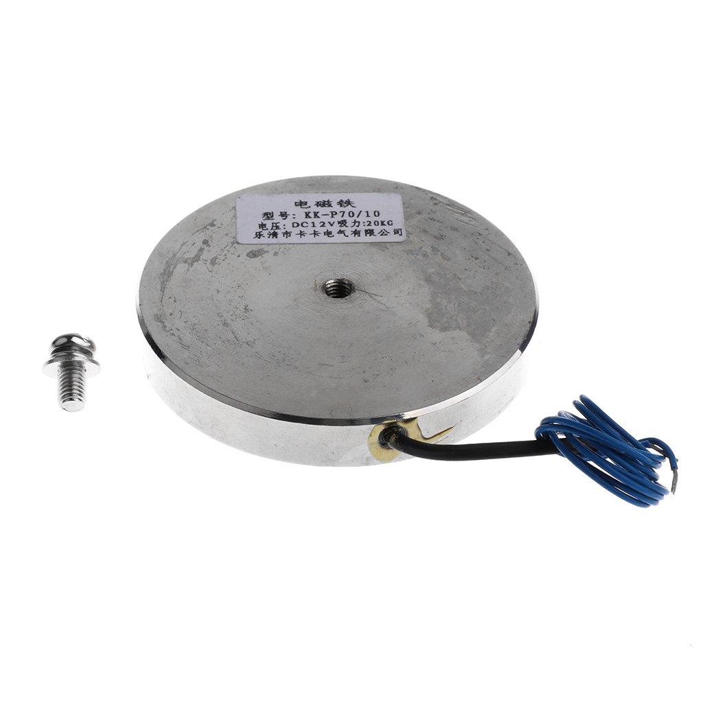 Electroim/án Ultradelgado de Taza de Ventosa de 12V Que Sostiene Elevaci/ón de Solenoide KK-25-11