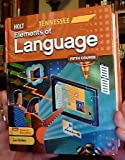 img - for Holt Elements of Language Fifth Course Student Book (2011 Tennessee Edition) book / textbook / text book