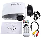 Best GENERIC Hd Home Theater Multimedia Lcd Led Projectors - YOOJOP AH 1xFull HD 1080P Mini Projector LED Review