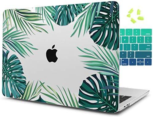 Dongke Leaves Printed Plastic Macbook