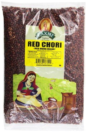 Laxmi All-Natural Red Chori Adzuki Beans, 4 Pounds by Laxmi