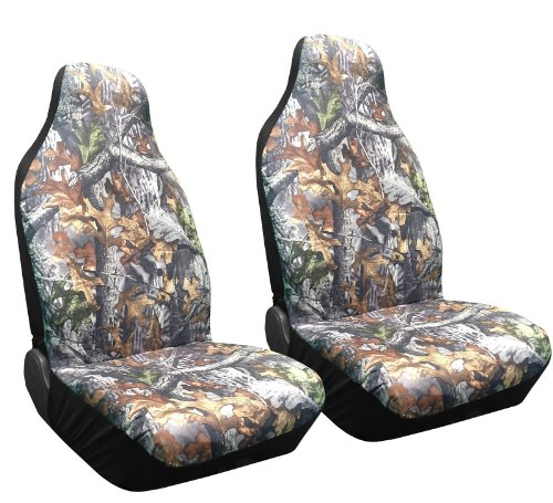 high back seat covers camo - 1