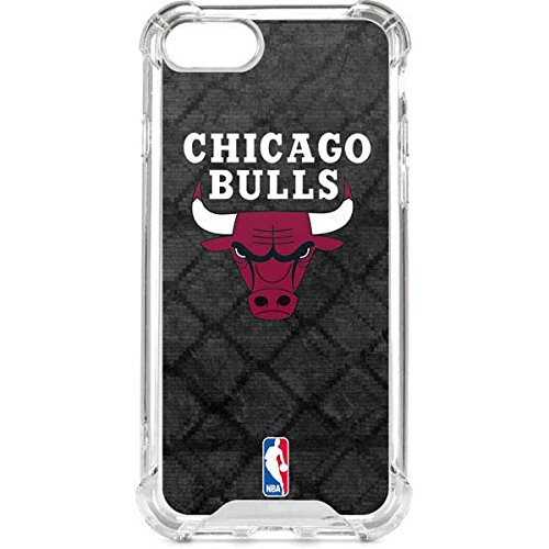 - Skinit Chicago Bulls Dark Rust iPhone 8 Clear Case - Officially Licensed NBA Phone Case Clear - Transparent iPhone 8 Cover