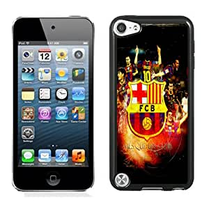 Customized Ipod Touch 5 Case Design with Fc Barcelona 2 Ipod Touch 5 5th Generation Black Case