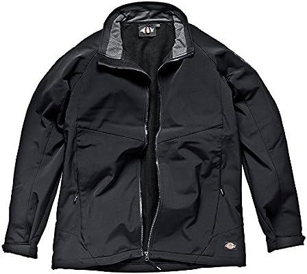 c57842f6650a Dickies JW84950 BK M Size Medium Softshell Jacket - Black  Amazon.co.uk   DIY   Tools