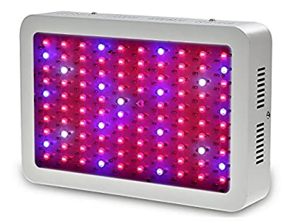 H World Shopping 1000W Double Chips Super Bright Full Spectrum Plant Grow Lights for Indoor Garden Hydroponic Greenhouse Flower