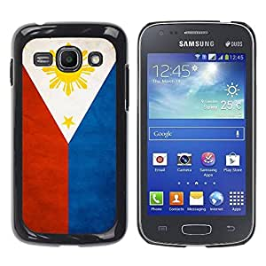 Paccase / SLIM PC / Aliminium Casa Carcasa Funda Case Cover - National Flag Nation Country Philippines - Samsung Galaxy Ace 3 GT-S7270 GT-S7275 GT-S7272