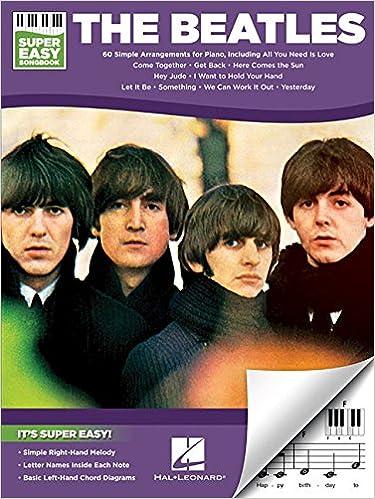 The Beatles - Super Easy Songbook: Beatles: 0888680647421: Amazon